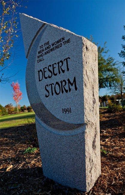 Desert Storm Memorial Florence