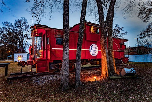 Dillon County Museum Railroad Car