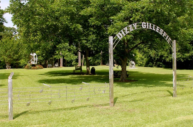 Dizzy Gillespie Home Site Park