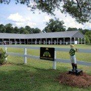 Dogwood Stable Lawn Jockey
