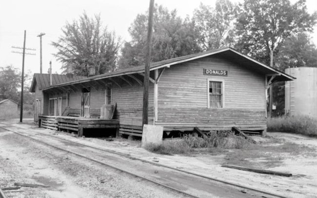 Donalds Depot Rear Historical
