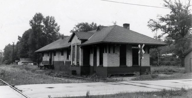 Donalds Station Historic