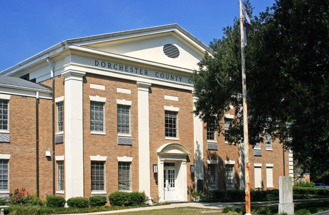 Dorchester County Courthouse - St  George, South Carolina
