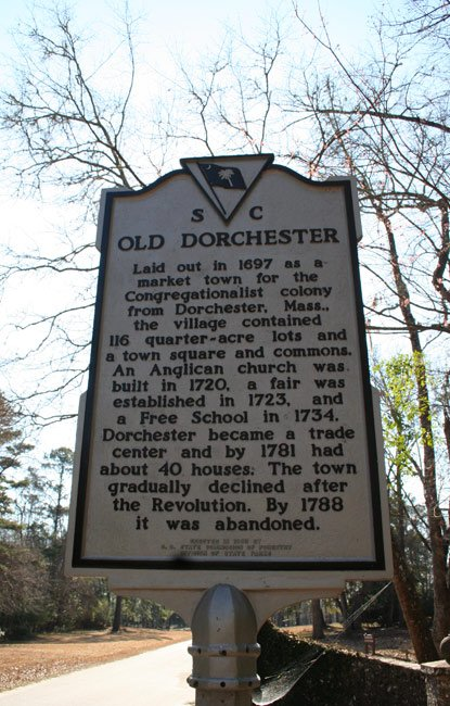 Dorchester Marker