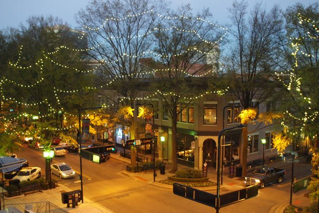 Downtown Greenville Lights