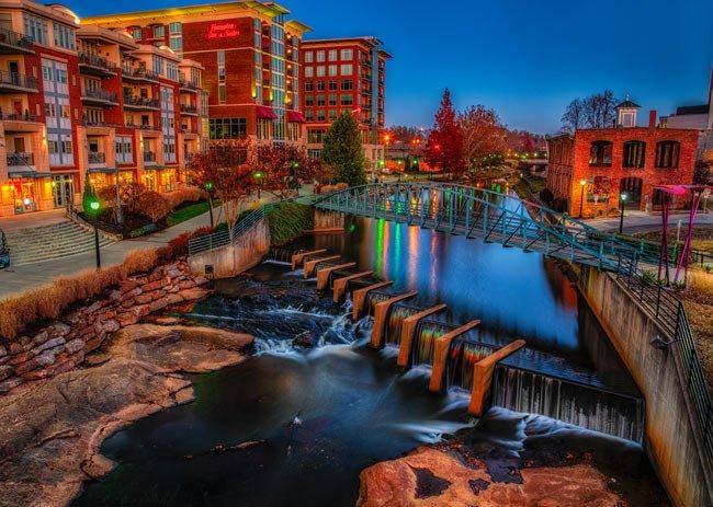 Downtown Greenville – Greenville, South Carolina