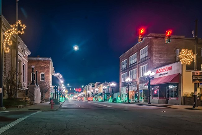 Downtown Union at Night