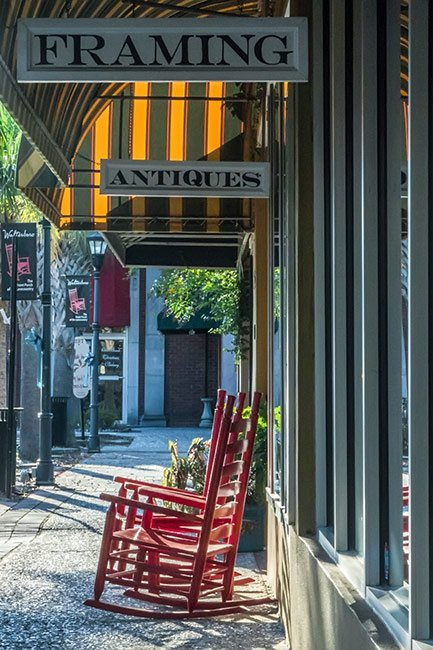 Downtown Walterboro Rocking Chairs
