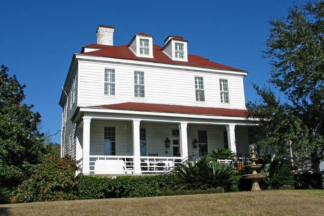Heriot Tarbox House Georgetown South Carolina