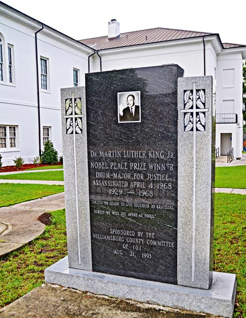 Dr. King Monument Kingstree