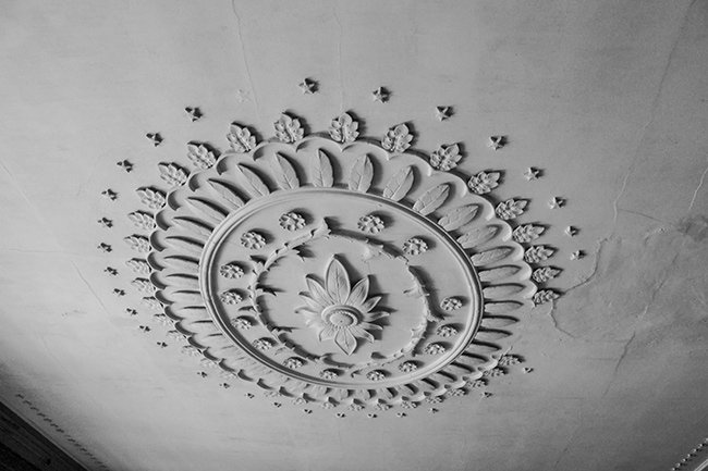 Plaster Medallion Drayton Hall