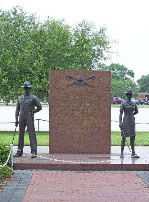 Drill Instructors' Creed Memorial