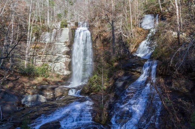 Eastatoe Falls Pickens County