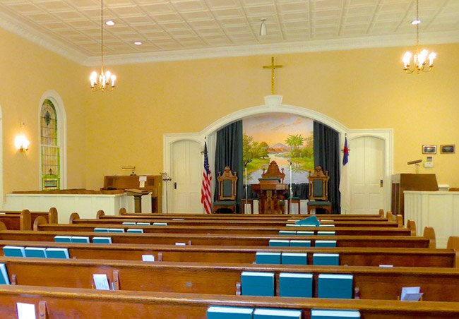 Ebenezer Church Interior