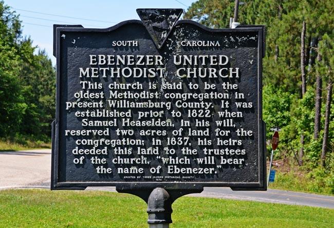 Ebenezer UMC Marker