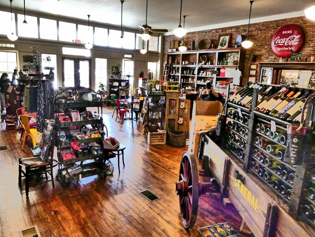 Edgefield General Store Interior