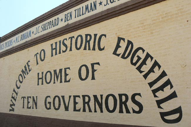 Edgefield Governors Mural