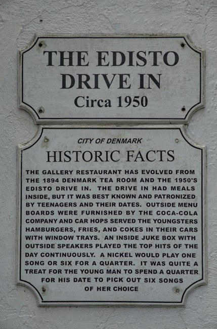 Edisto Drive In Sign