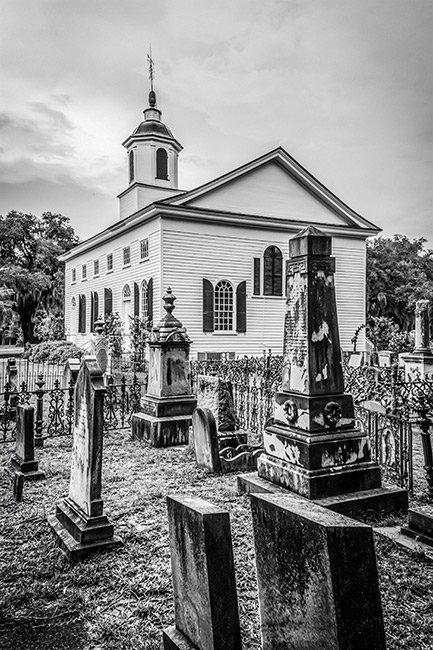 Edisto Island Presbyterian Church Graveyard