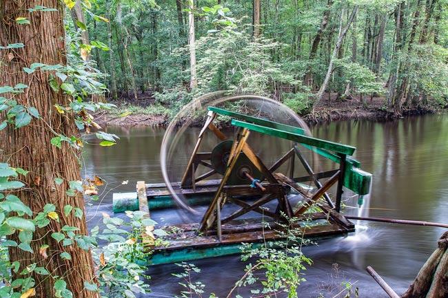 Edisto Memorial Gardens Waterwheel