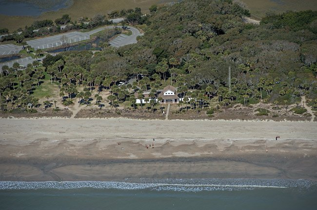 Edisto Beach State Park Aerial
