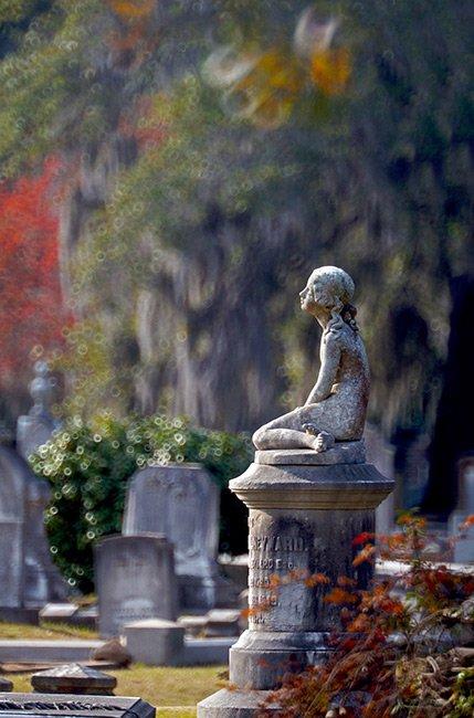 Eliza Barnwell Heyward, Magnolia Cemetery