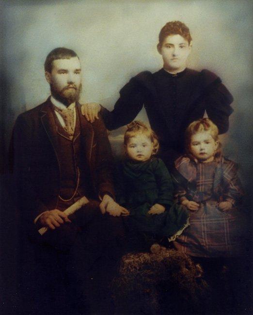 Ellis Family Portrait, Hartsville, SC