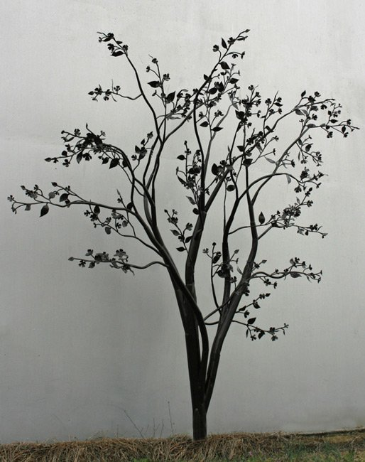 English Cooper Iron Tree