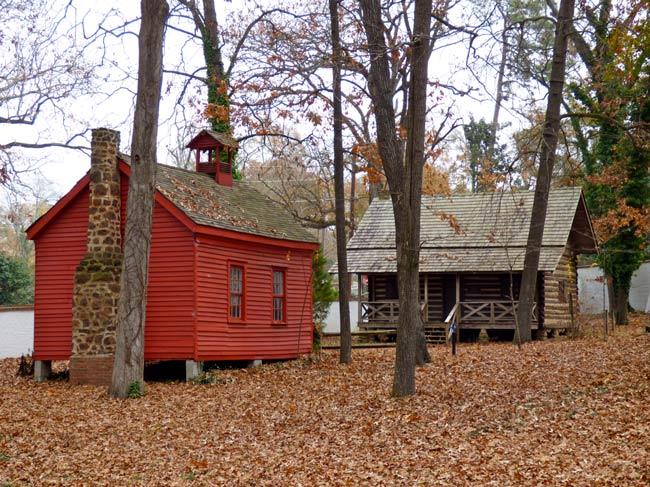 Ergle Cabin Schoolhouse