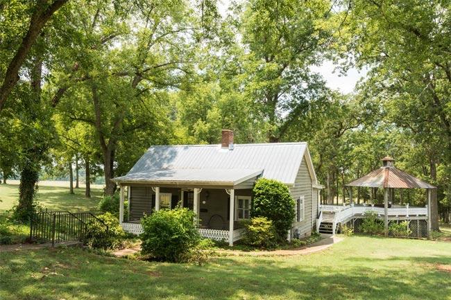 Evergreen plantation starr south carolina sc for Evergreen cottage