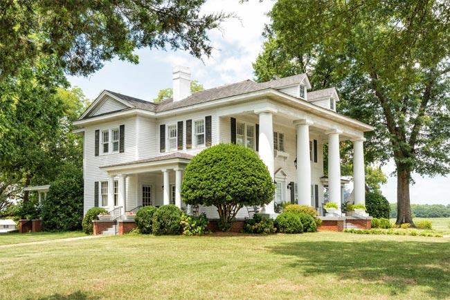 Evergreen Plantation Starr South Carolina Sc