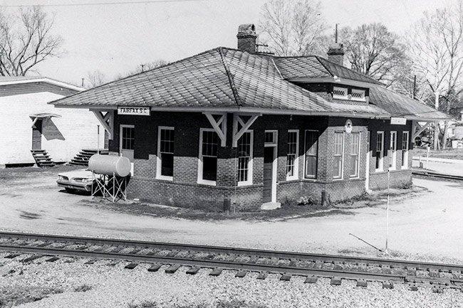Fairfax Train Depot