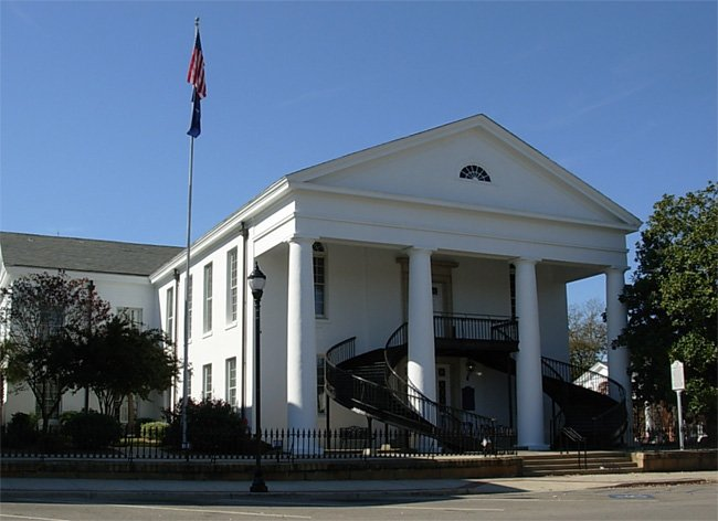 Fairfield County Courthouse SC