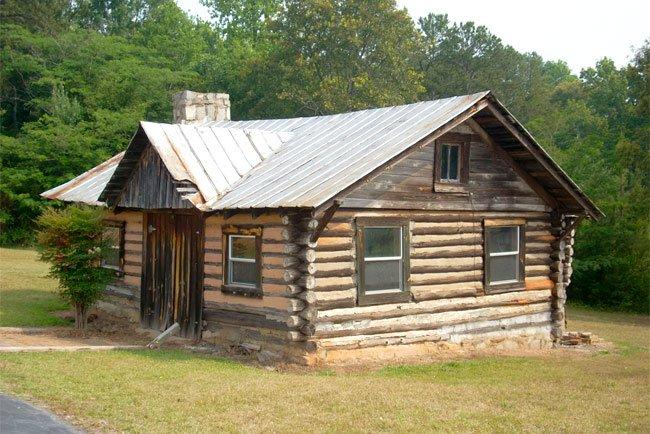 Faith Cabin Library Exterior