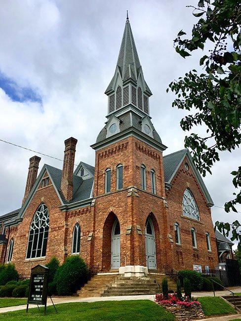 First Presbyterian Church, Laurens