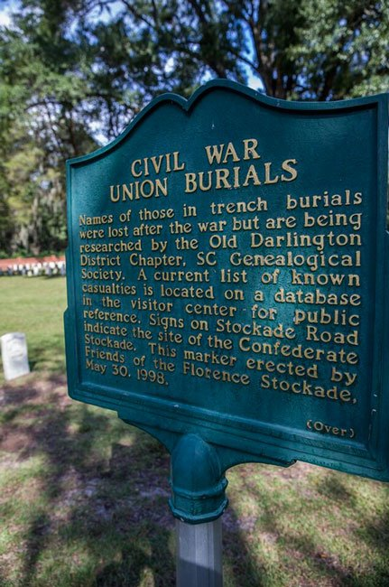 Florence Stockade Marker Front