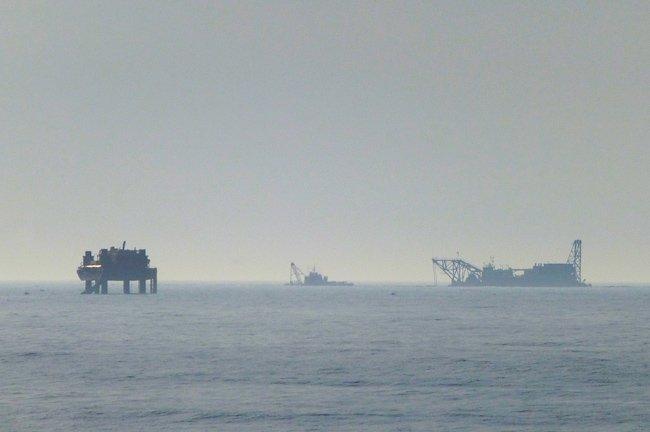 Folly Beach Barges