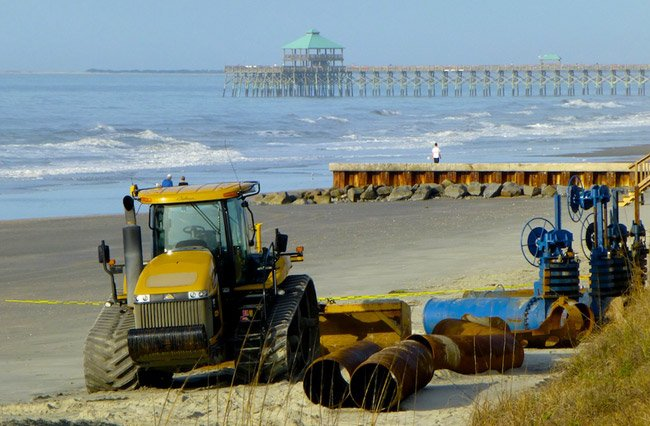 Folly Beach Dredging