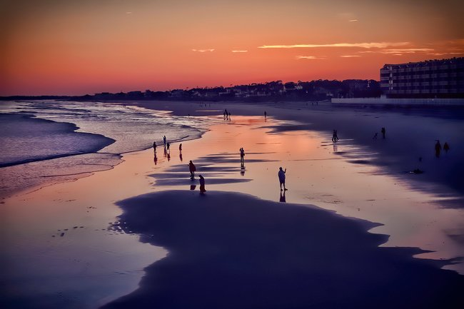 Folly Beach Evening