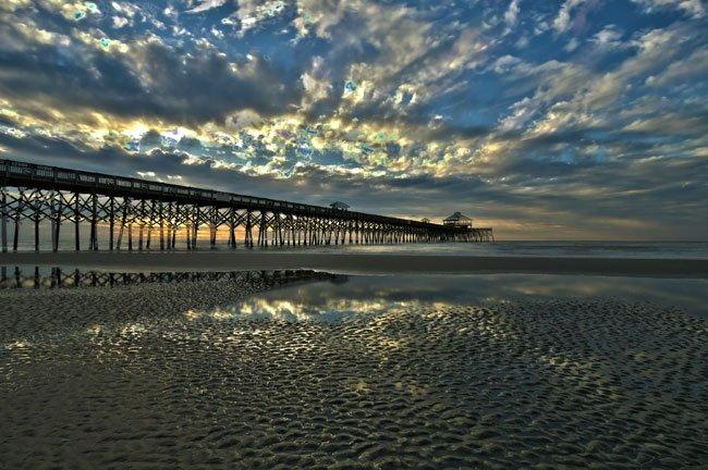 Folly Beach Pier SC