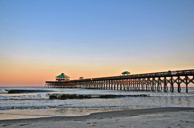 Folly Beach Pier SC