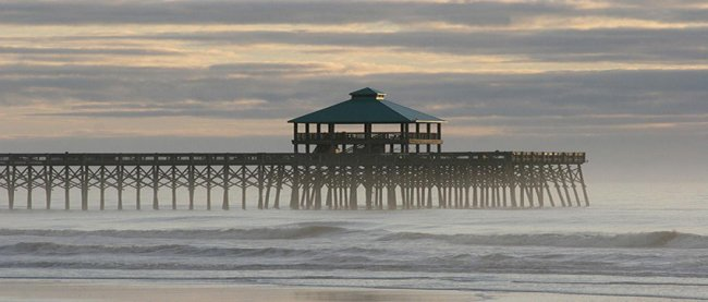 Folly Pier Panorama