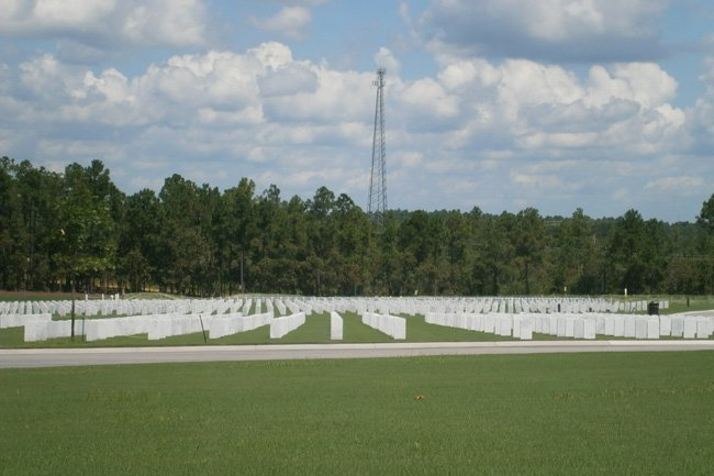 Fort Jackson Cemetery Markers