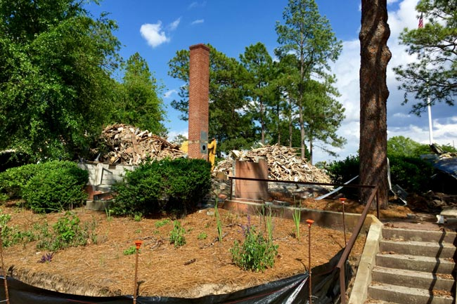Fort Jackson Headquarters Demolished