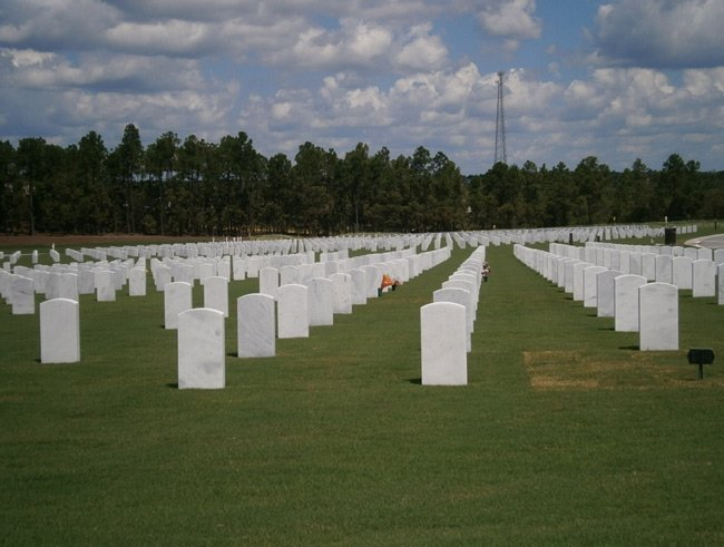 Fort Jackson National Cemetery Columbia