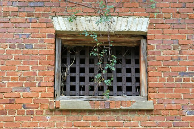 Fort Motte Jail Window