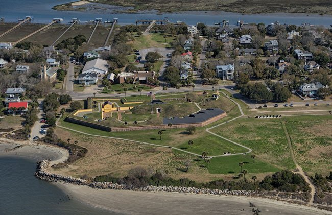 Fort Moultrie Aerial