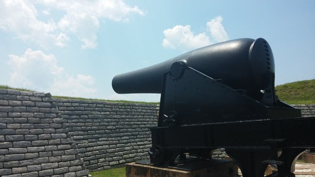 Fort Moultrie Cannon