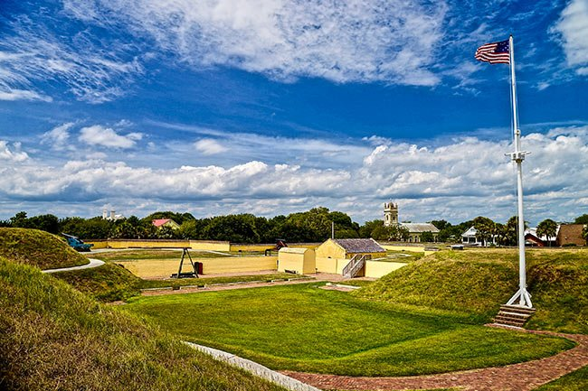 Fort Moultrie Interior