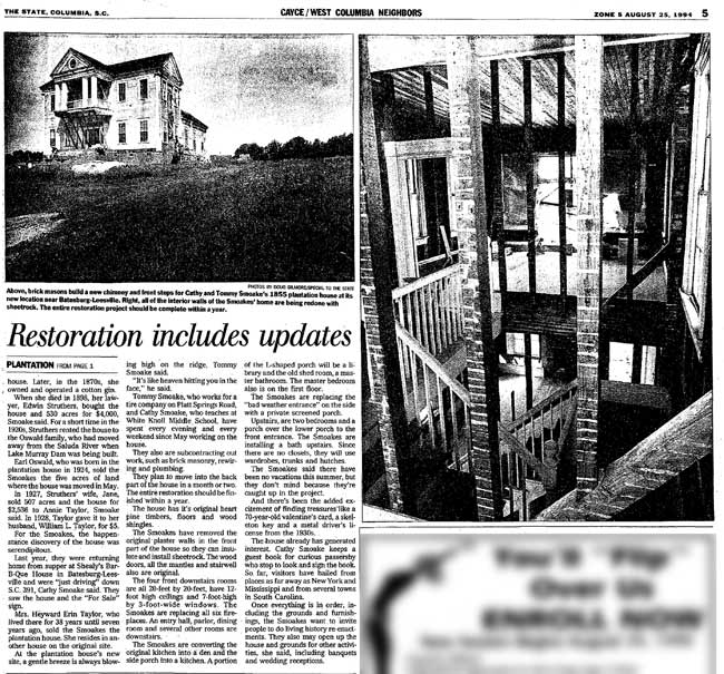 Fort Taylor House Article Continued